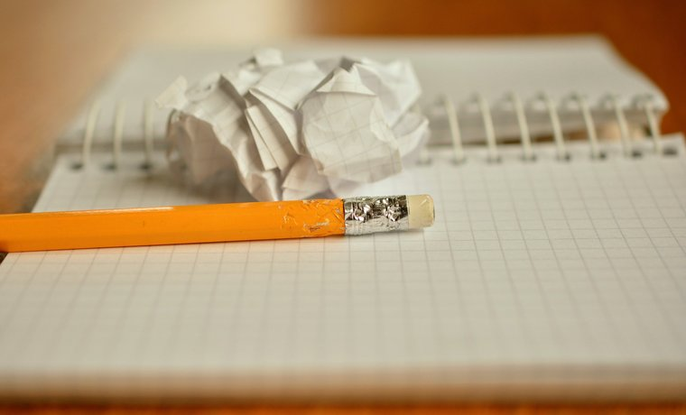 気持ちをノートに書く